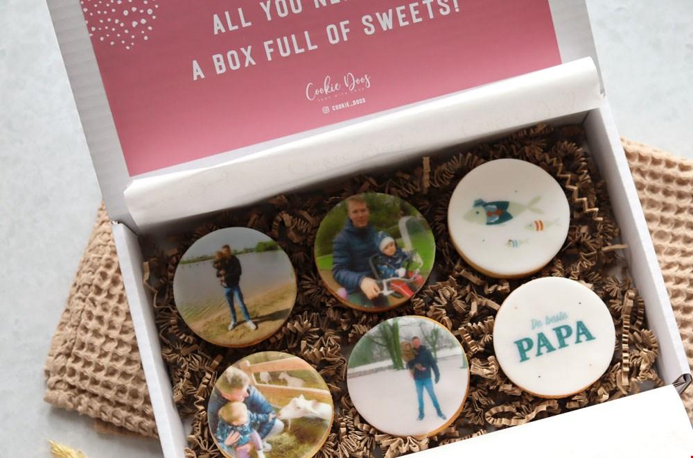 Cookiedoos Personaliseerbare Koekjes Vaderdag Flavourites