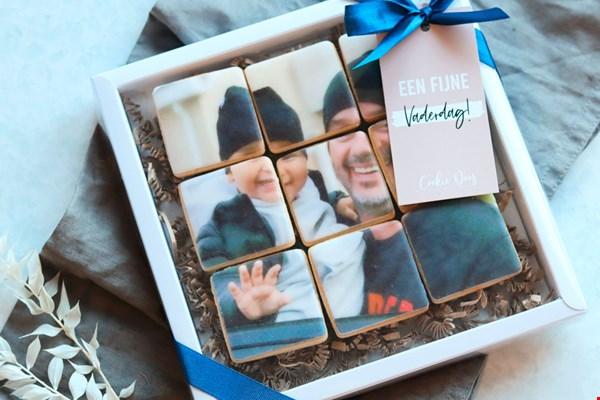 Cookiedoos Vaderdag koekjes met foto Flavourites