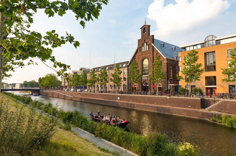 De monumentale kerk BUNK in Utrecht