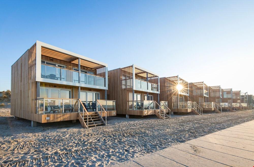 Beach villas in Hoek van Holland