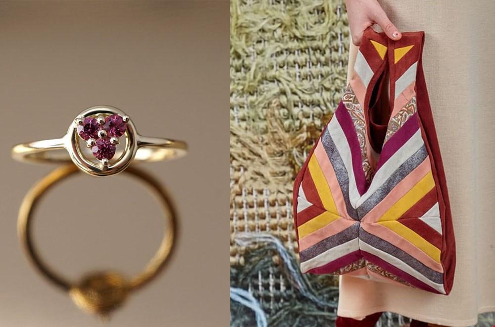 Masters & Crafters Kleurrijke tas en ring Flavourites