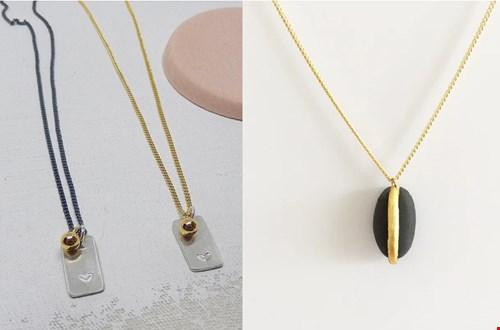 Handgemaakte sieraden van bijJosse, lucky bean ketting