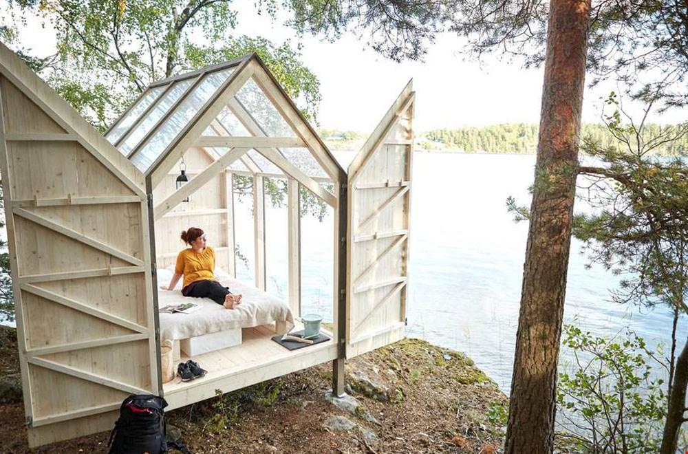 Wát een geweldig tiny house! Foto: Jonas Ingman