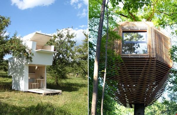 Te gekke tiny houses. Een ideale extra werkplek!
