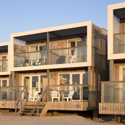 Op het strand in Hoek van Holland