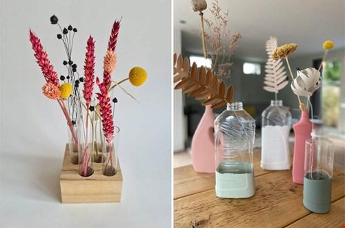 Creatieve DIY vazen