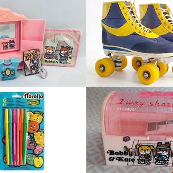 Herinner je je deze nog nog nog? Van vintage rollerskates tot pennenbak van Bobby & Kate
