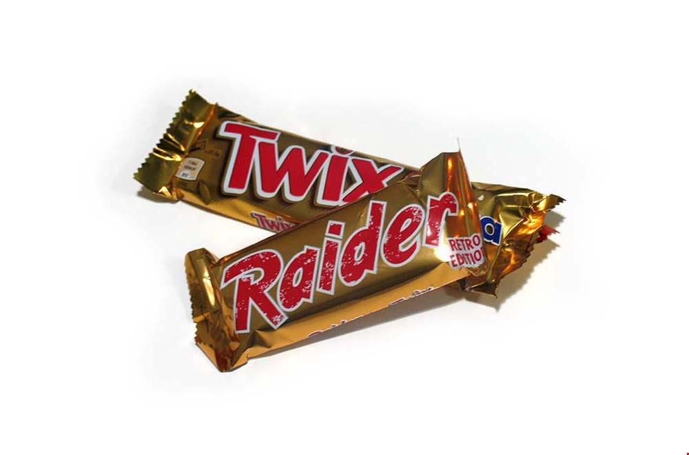 Raider werd Twix