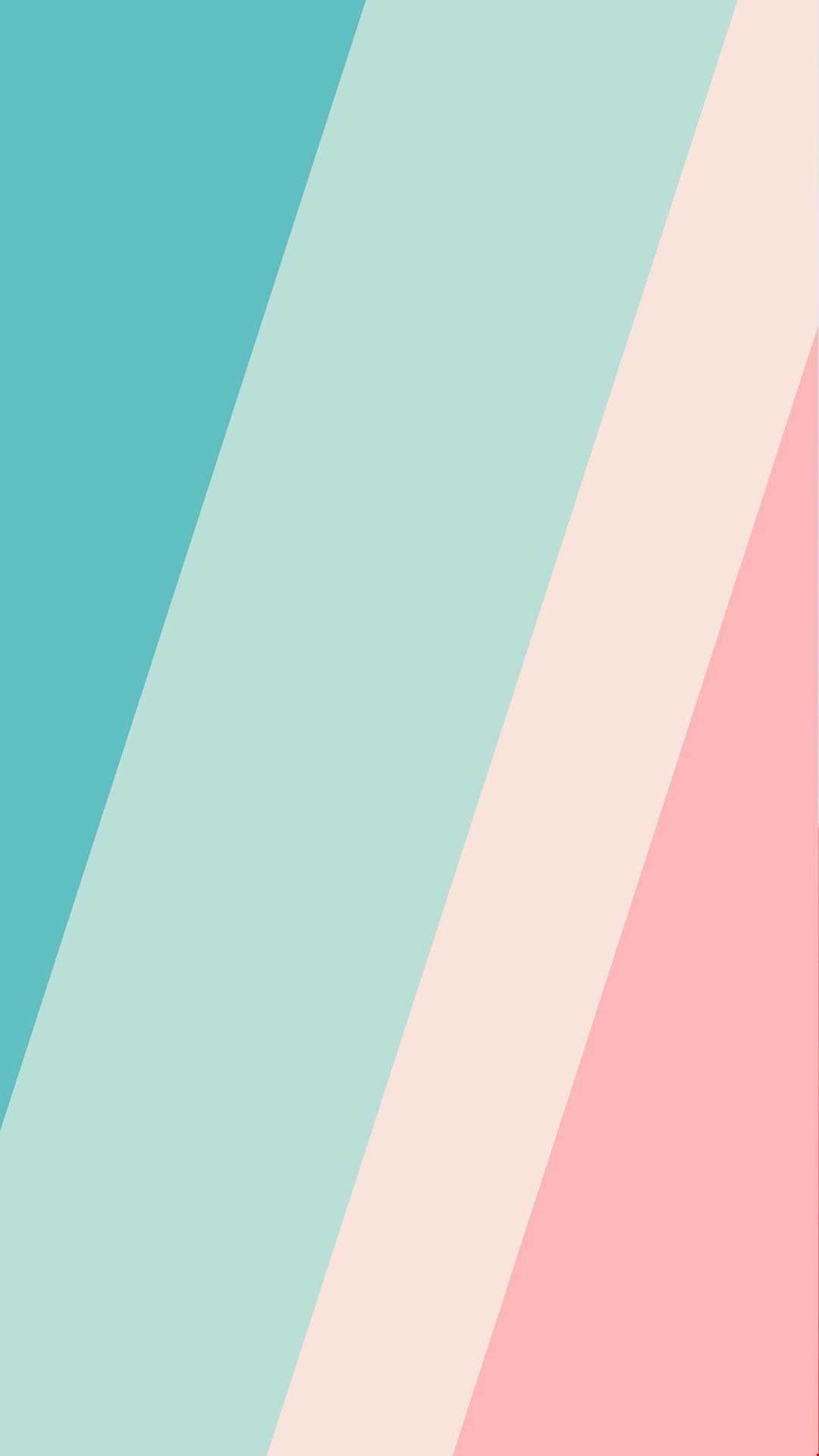 Wallpaper turquoise & pink