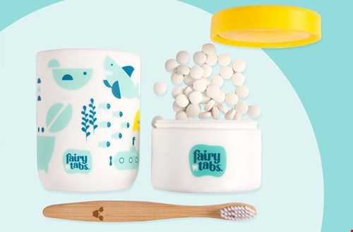 Fairytabs tandpasta tabletten Flavourites