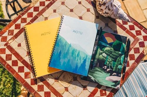 MOYU Notebooks Notitieboek met print Flavourites