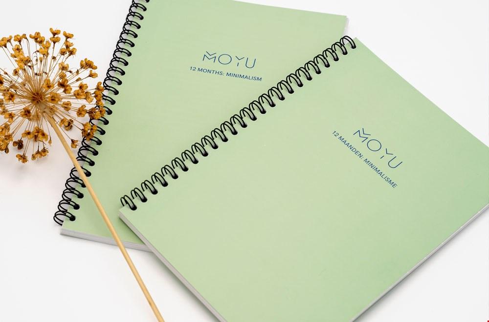 MOYU Notebooks Notitieboek groen Flavourites