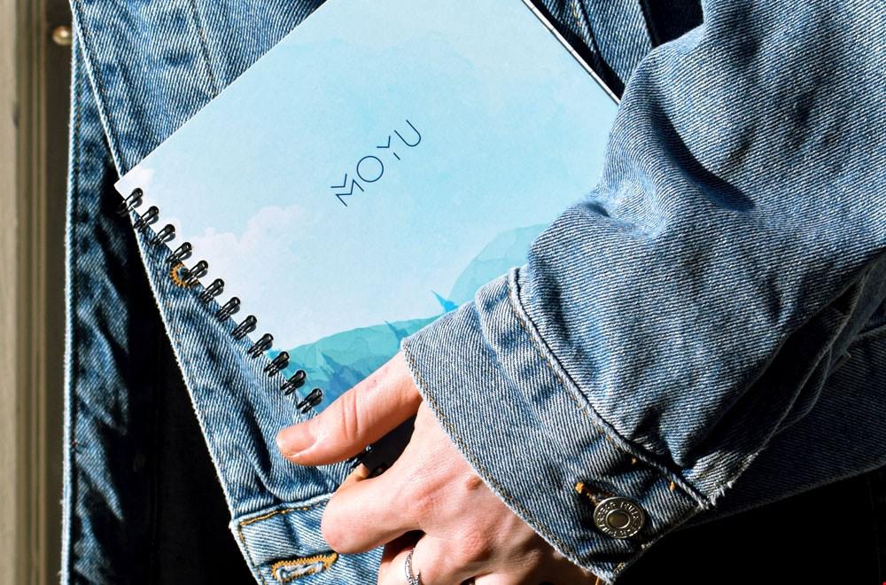 MOYU Notebooks Notitieboek blauw Flavourites