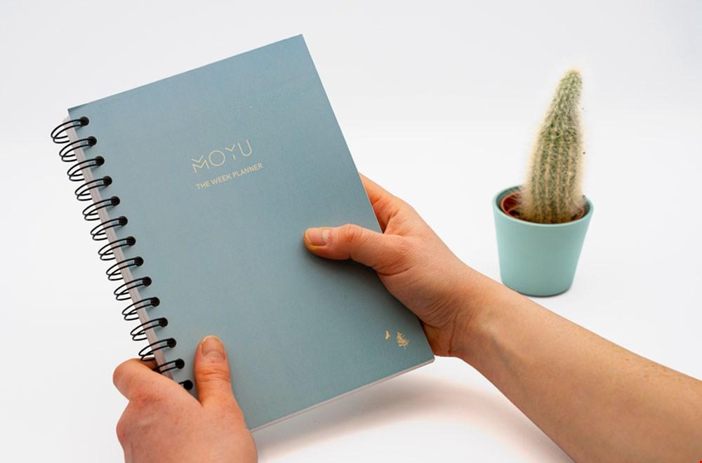 MOYU Notebooks Weekplanner Dennis Storm Flavourites