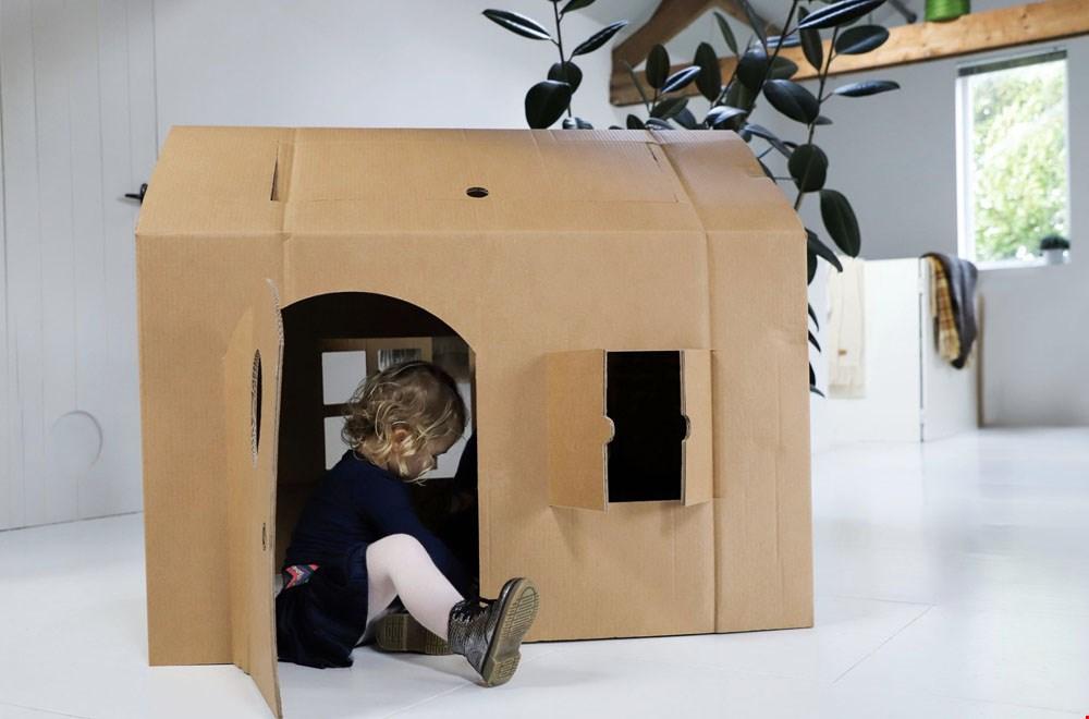 Kidsproof KarTent kartonnen bouwprojecten Flavourites