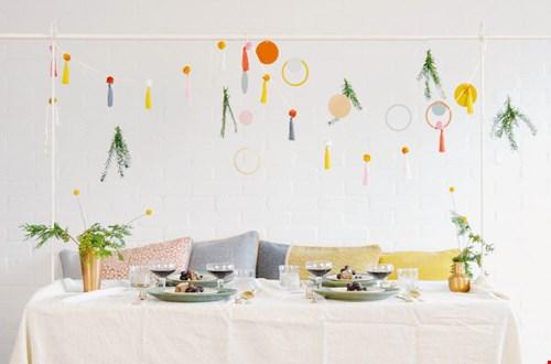 Herbruikbare decoratie voor verschillende gelegenheden