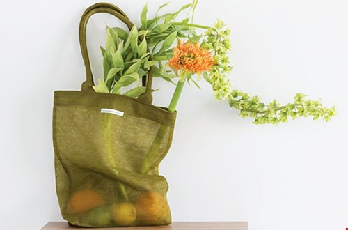 Hupsch Shopper Tas groen Flavourites
