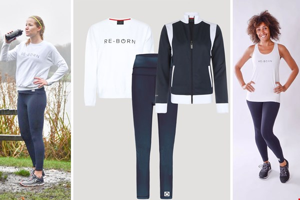 WIN een 3-delige sport set t.w.v. € 250,- van  Re-Born Sports!