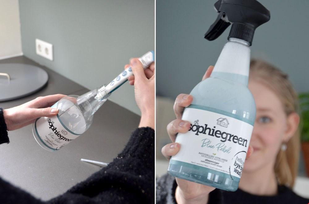 Zó handig: even vullen, lauw water erbij, schudden en klaarrr