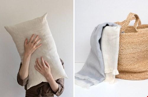 Ook de kussens en dekentjes krijgen een lente update