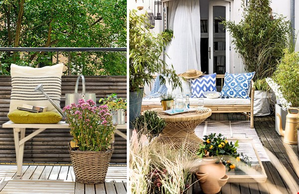 Van rustiek tot urban jungle... zó maak je je balkon gezellig!