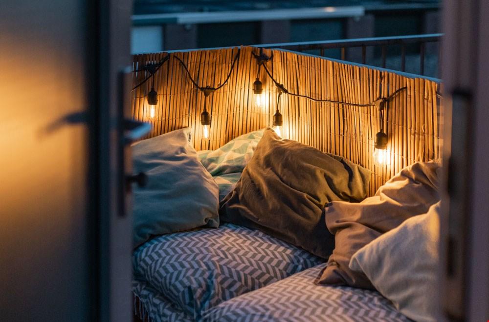 Romantisch Patio lichtsnoer van Cottonballlights