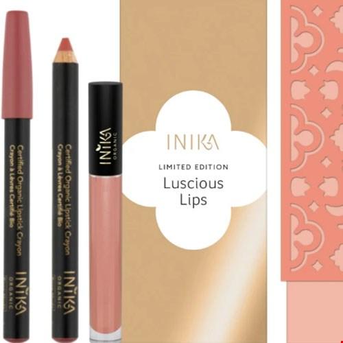 Inika Lucious Lips Set