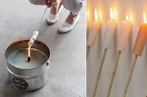 Sfeervolle kaarsen