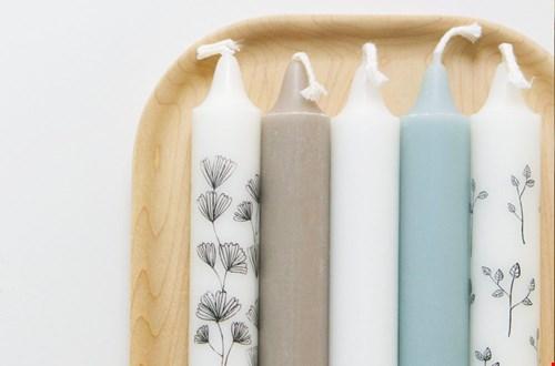 FIKA huis Kaarsen met print Flavourites