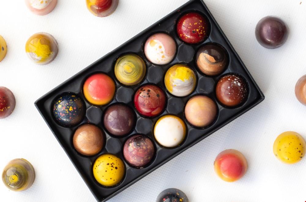 Chocolade bezorgd Bonbons Flavourites