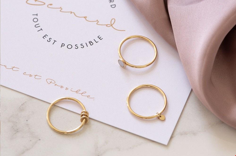 14 karaat gouden ring van Isabel Bernard