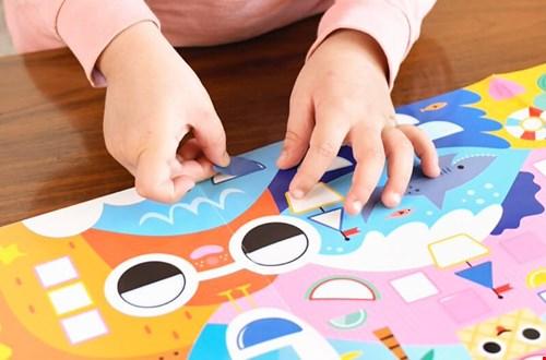 Juffrouw Pauw Stickerpret Flavourites