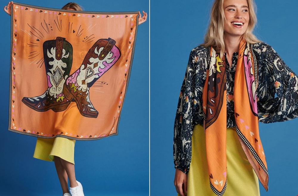 Geweldige sjaal van POM Amsterdam