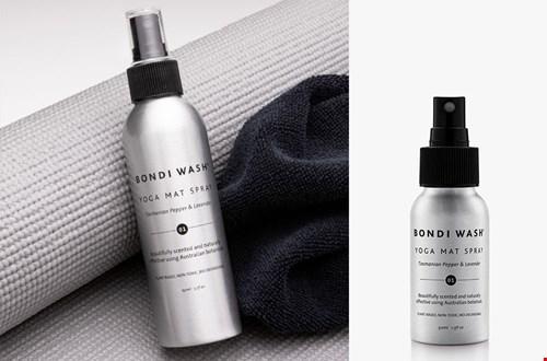 Bondi Wash: spray om je yogamat mee te verfrissen