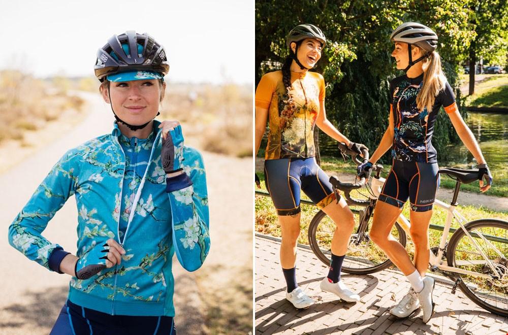 Te gek: fietskleding voor dames van Ingeklikt.com