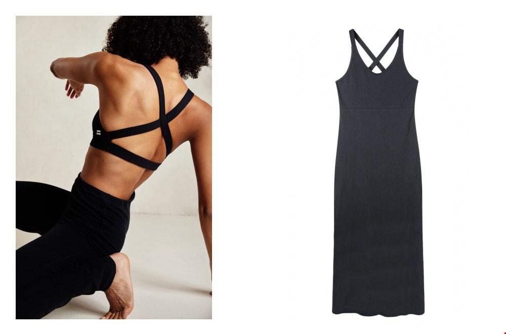Fijne beha om in te sporten én een perfect match met deze jurk!