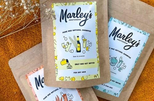 Marley's Amsterdam Shampoovlokken voor verschillende haartypen Flavourites