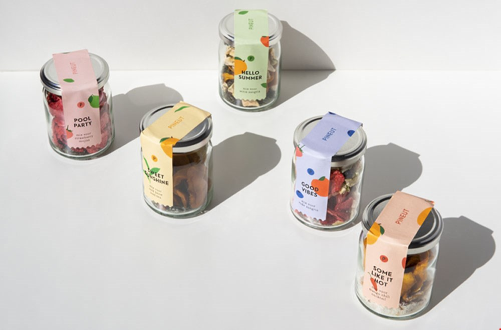 Pineut Zomerdrankjes in potten Flavourites