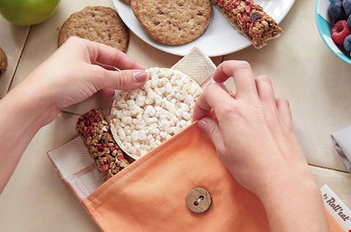 Mooi, handig en mileuvriendelijke zakjes voor je lunch en snacks