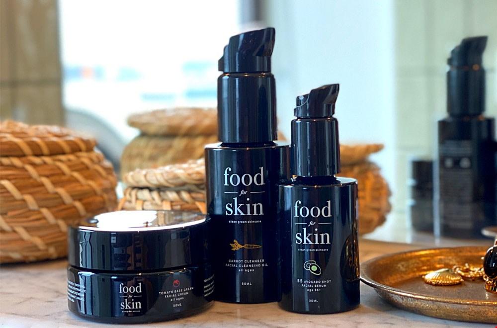 WIN een complete set huidverzorging t.w.v. € 99,95 van Food for Skin !