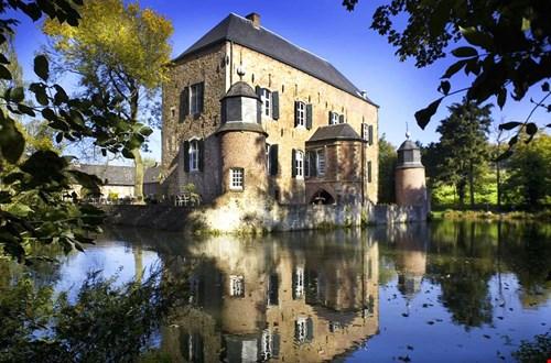 Het mooie Kasteel Erenstein in Limburg