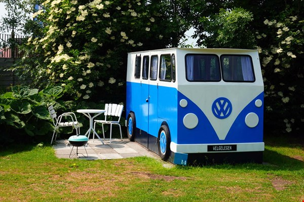 Volkswagen hut op camping Welgelegen