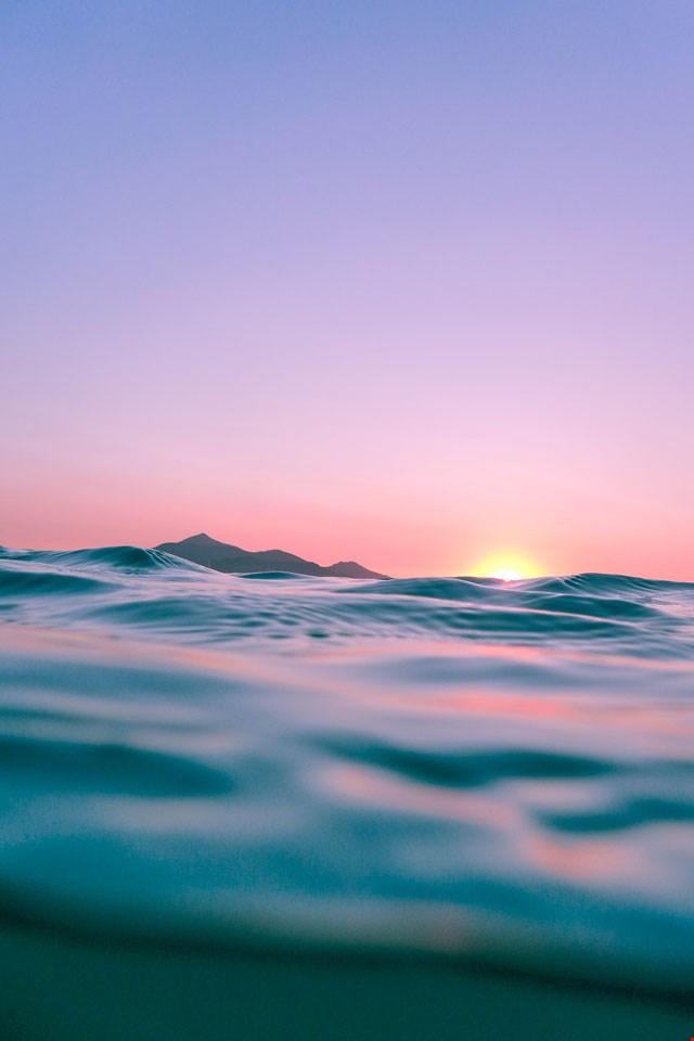Wallpaper zonsondergang