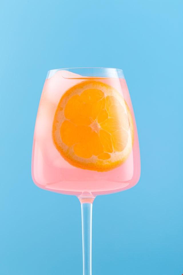 Wallpaper zomers drankje