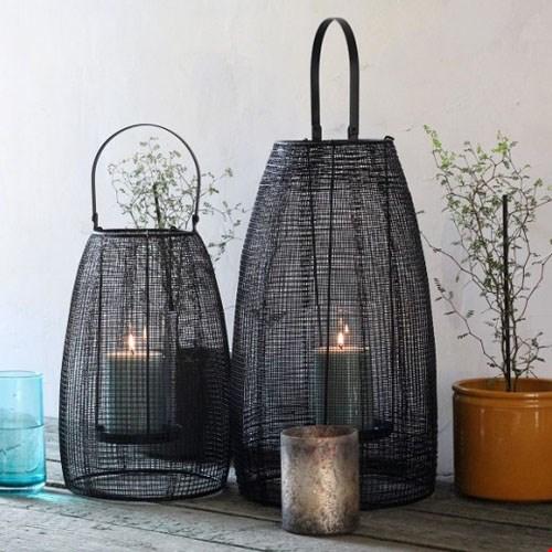Windlichten en lantaarns voor in de tuin