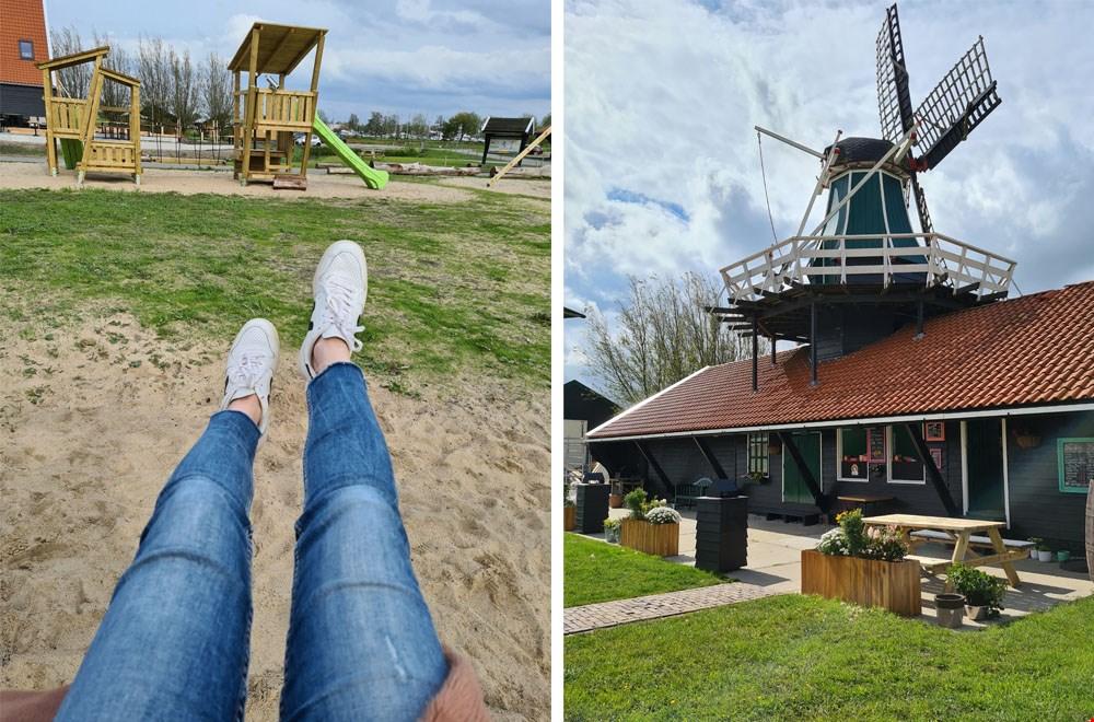Meespelen of relaxen op  het terras?