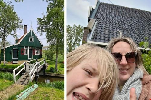 Wij waren een dagje toerist in eigen land op de Zaanse Schans