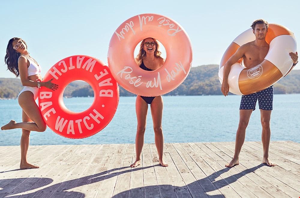 De leukste zwembanden zijn die van Mirthe Castello