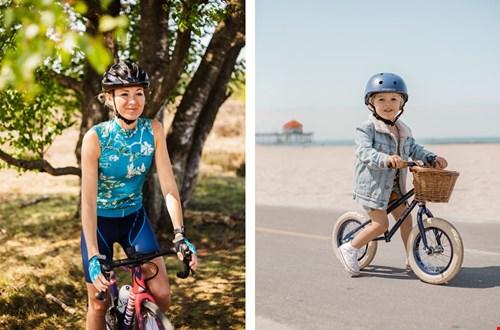 Jong geleerd is oud gedaan! Wieleroutfits van Ingeklikt en super leuke kids fietsjes @lazylama