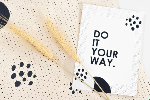 MOODZ design Do It Your Way Flavourites